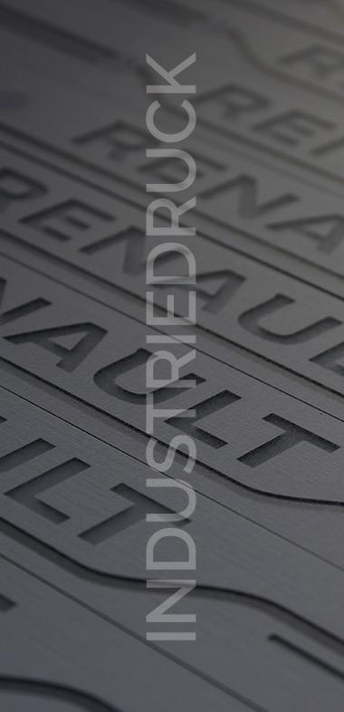 Die Sparte Industriedruck garantiert unseren Kunden die schnelle Abwicklung und Herstellung von Produkten bei Grossauflagen