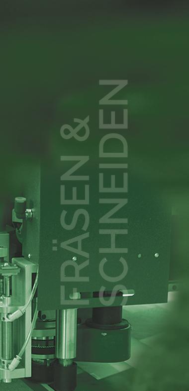 Solide und vielseitige Fräß- und Schneidetechnik mit automatischer Vorlagenerkennung.